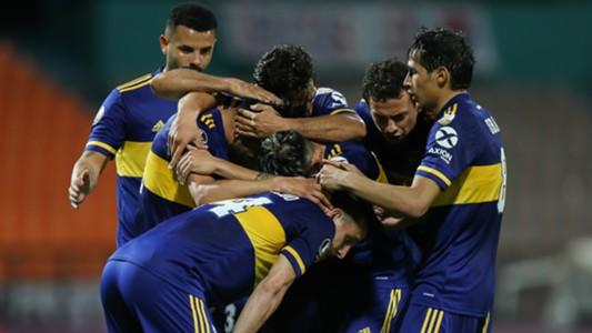 festejo Boca DIM Copa Libertadores 24092020