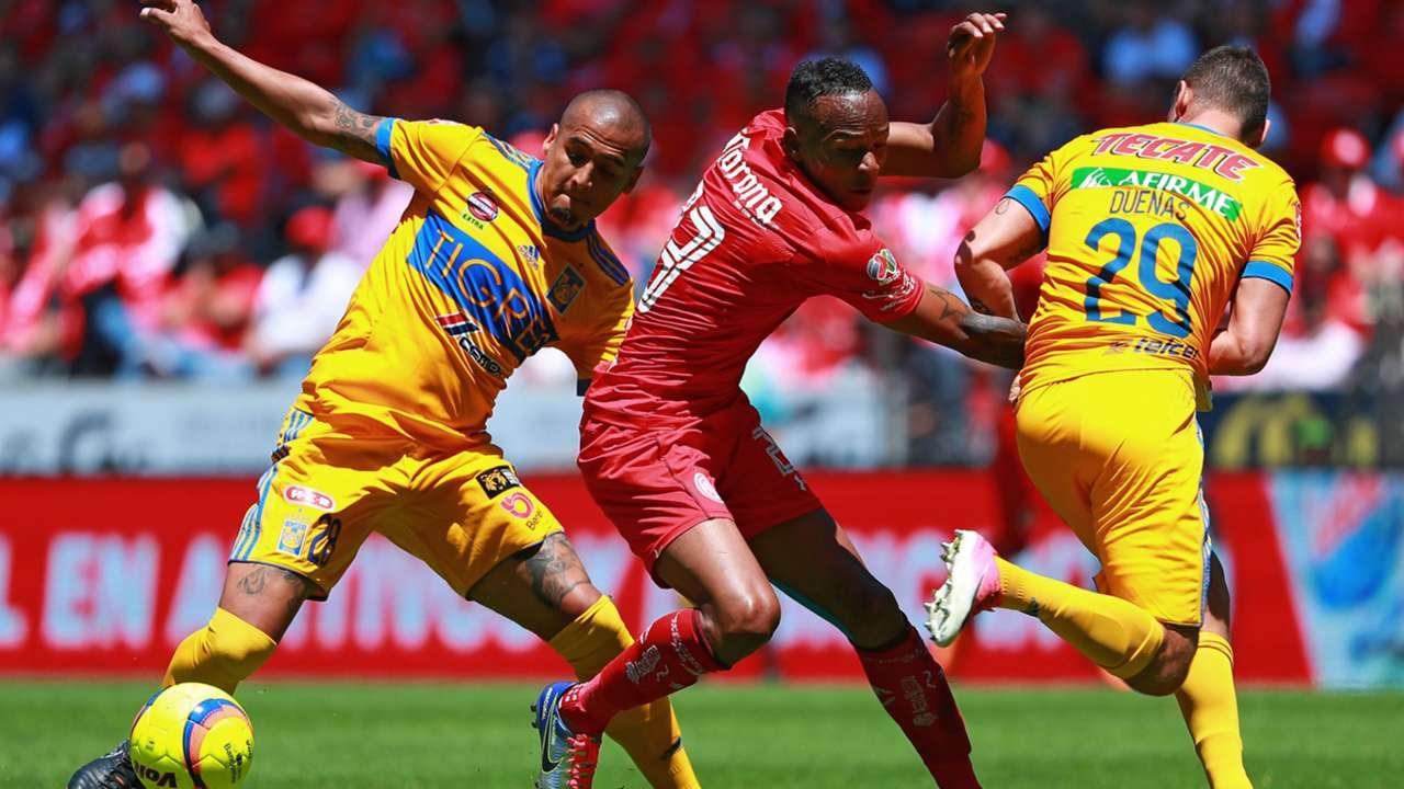 Luis Quinones Toluca Luis Rodriguez Jesus Duenas Tigres