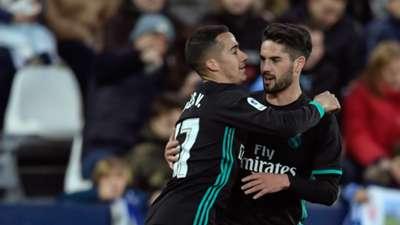 Real Madrid Leganes Vazquez Isco LaLiga 02212018