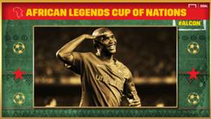 African Legends Cup of Nations: Samuel Eto'o