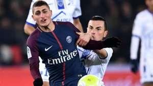 Marco Verratti PSG Troyes Ligue 1 29112017