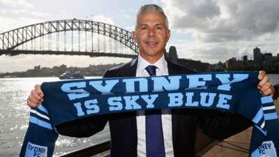 Steve Corica Sydney FC 2018