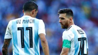 Angel Di Maria, Lionel Messi, Argentina