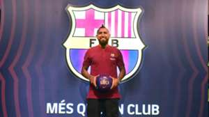 050818 Arturo Vidal - Barcelona
