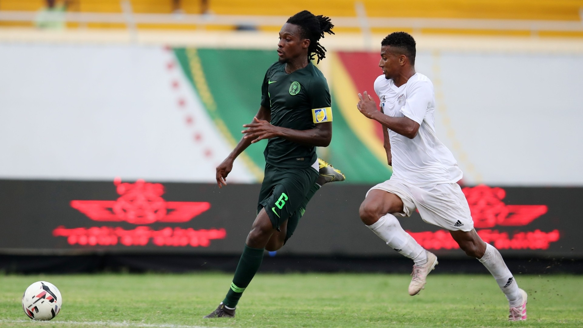 Ndah: Nigeria international on trial at Orlando Pirates after helping Akwa United clinch NPFL title