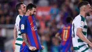 Lionel Messi Barcelona Eibar La Liga 21052017