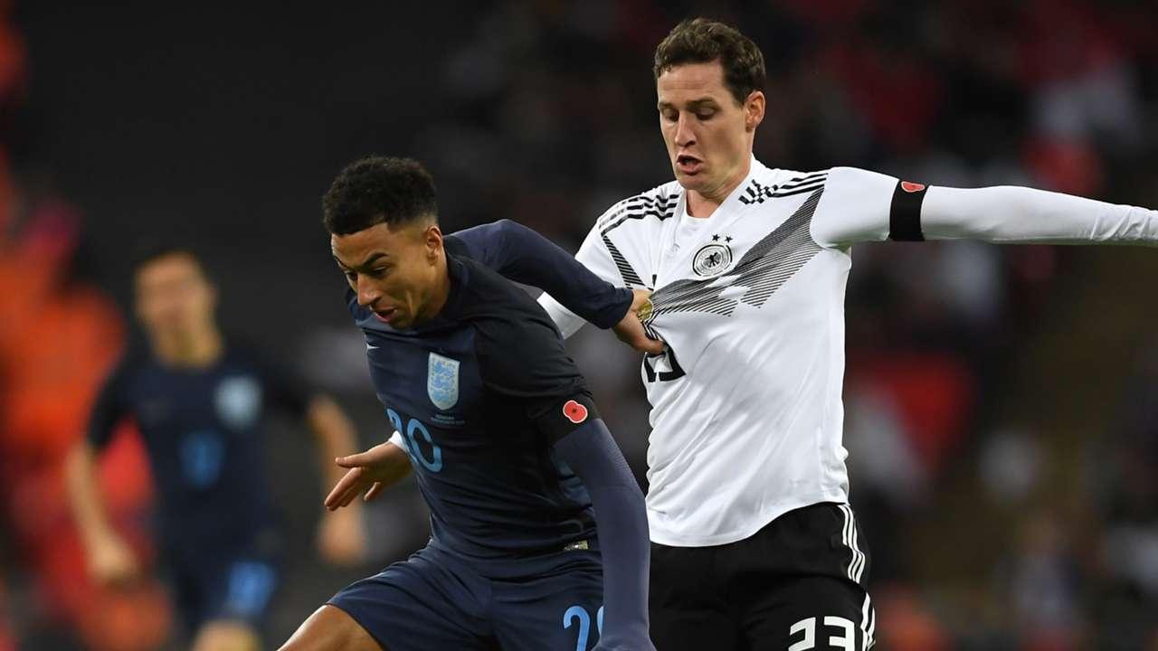 Lingard vs Germany