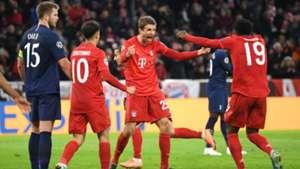 LDC - Le Bayern vient à bout des Spurs, les Madrilènes assurent
