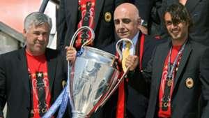 Carlo Ancelotti Paolo Maldini AC Milan Champions League