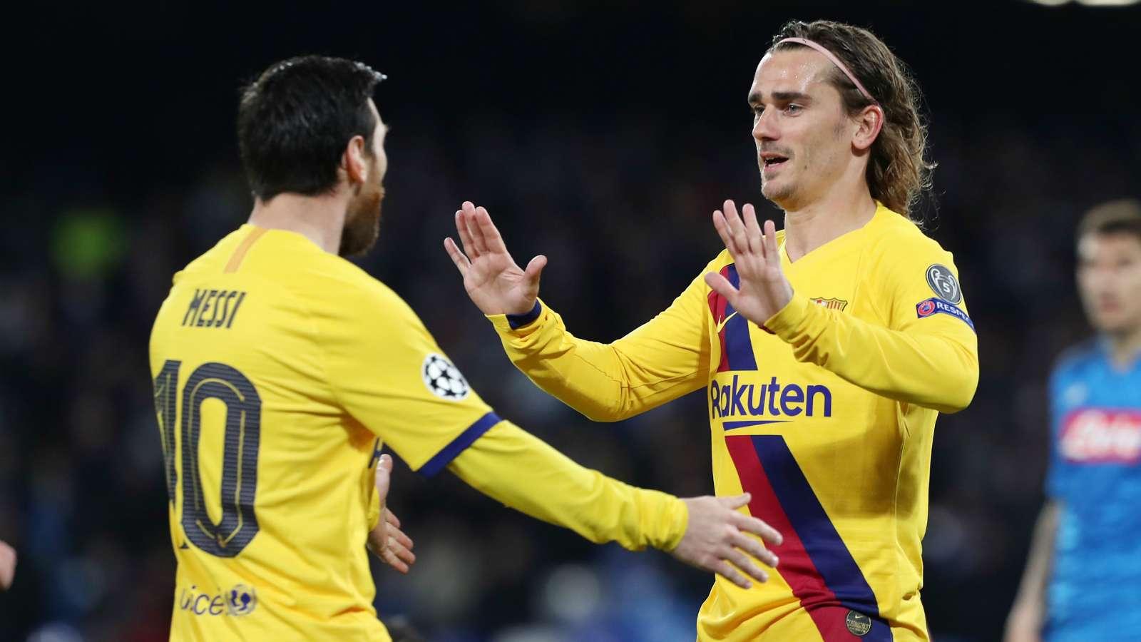 Antoine Griezmann Lionel Messi Barcelona 2019-20