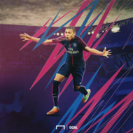 Kylian Mbappe PSG Graphic