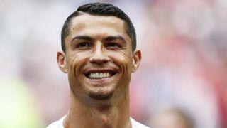 Cristiano Ronaldo goatee Portugal WC 2018