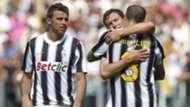 Barzagli Chiellini Lichtsteiner - Juventus