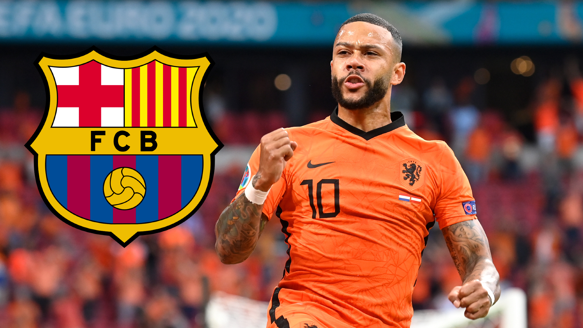Barcelona complete the signing of Depay as a free agent with a two-year contract