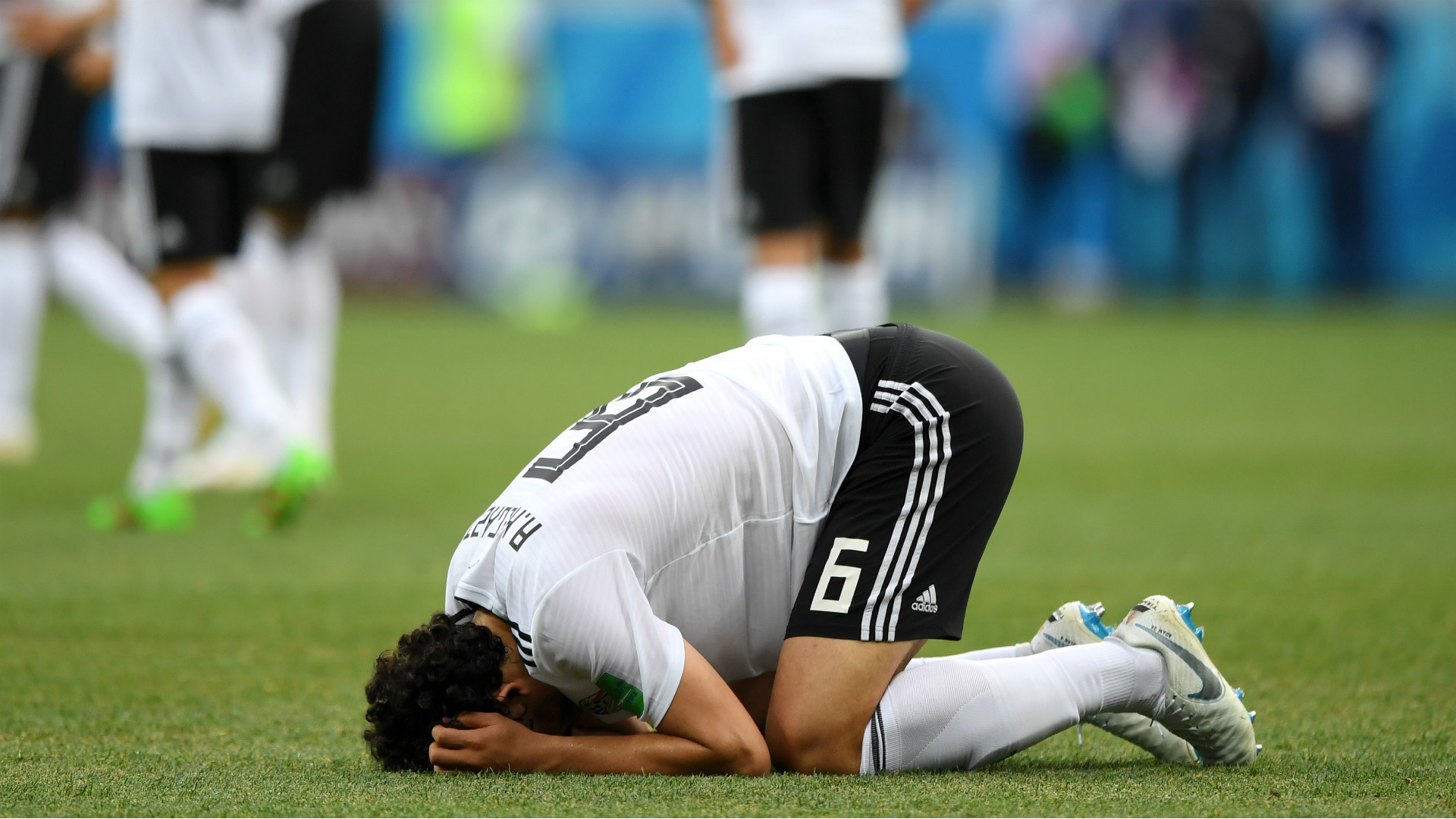 Ahmed Hegazy, Egypt, World Cup, 25062018