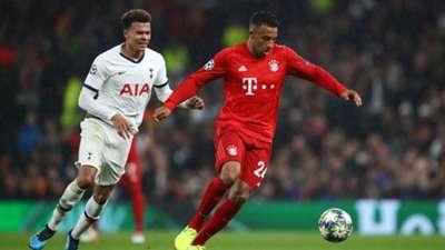 Corentin Tolisso Tottenham Hotspur FC Bayern München Champions League 01102019