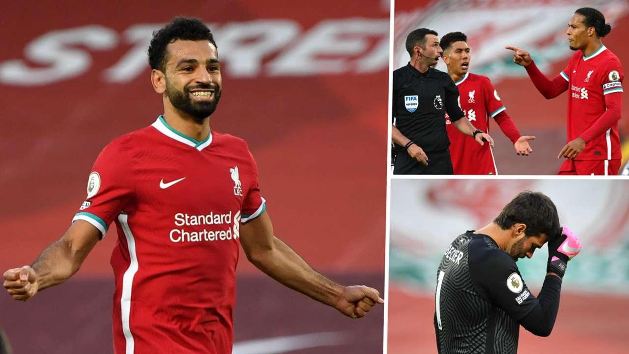 Mo Salah Virgil van Dijk Alisson Liverpool Leeds 2020-21 GFX
