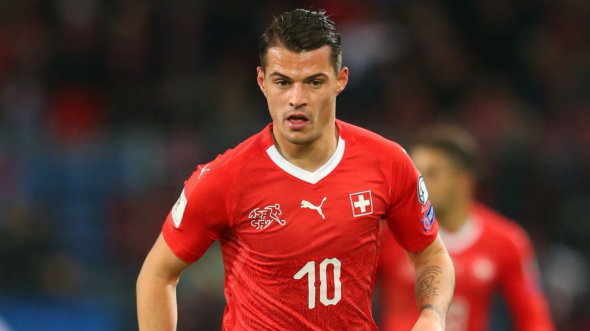 Granit Xhaka Switzerland 2017