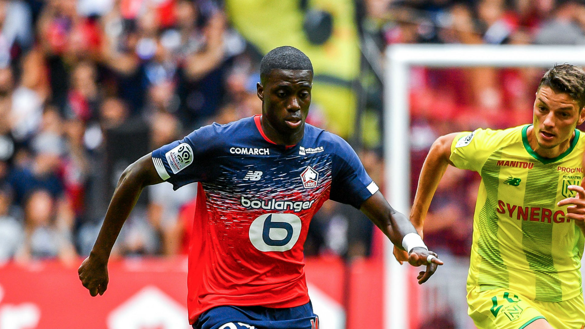 「timothy weah lille」の画像検索結果