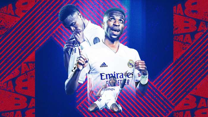 Vinicius Junior Real Madrid Barcelona GFX