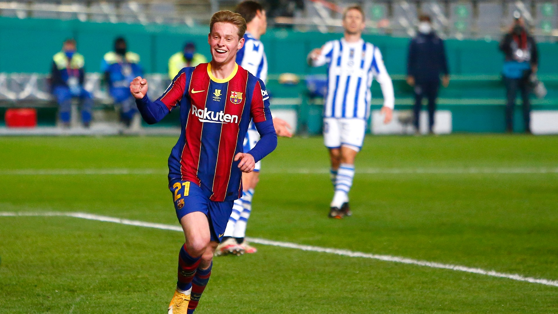 Frenkie de Jong leads Barca to Elche win without Lionel Messi