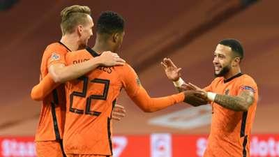 Luuk de Jong Netherlands 2020-21