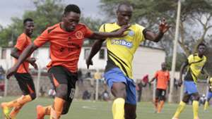 SAMMY MUKWANA of Re-Union v EZEKIEL OKARE of Sofapaka.