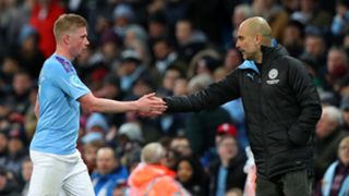 Kevin De Bruyne/Pep Guardiola Manchester City 2019-20