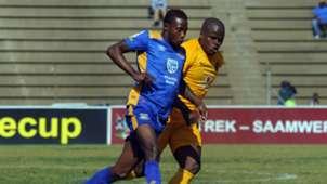 Willard Katsande of Kaizer Chiefs against Township Rollers