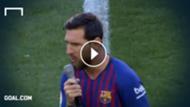 GFX Lionel Messi FC Barcelona VIDEO