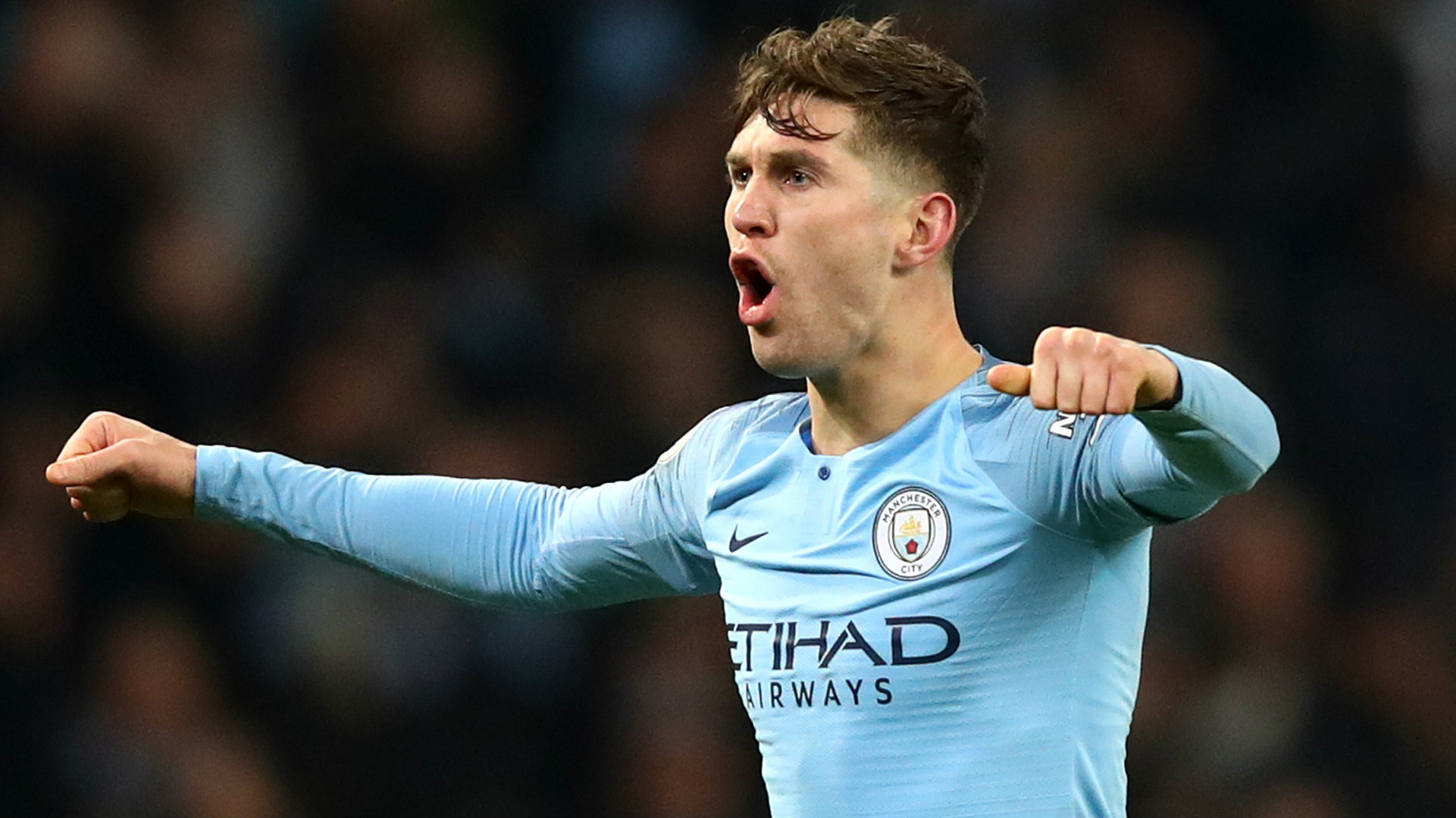 John Stones Manchester City 2018-19