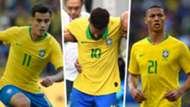 Coutinho Neymar Richarlison Brazil