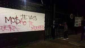 Amenazas de muerte en Colo Colo contra Mosa 18072017