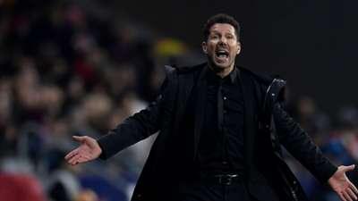 2018-11-25 Simeone Atletico Madrid