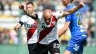 Javier Pinola Defensa y Justicia River Superliga Argentina 01042018