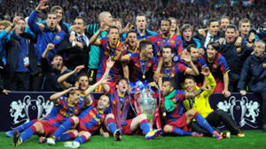 Barcelona 2011 Champions League winners