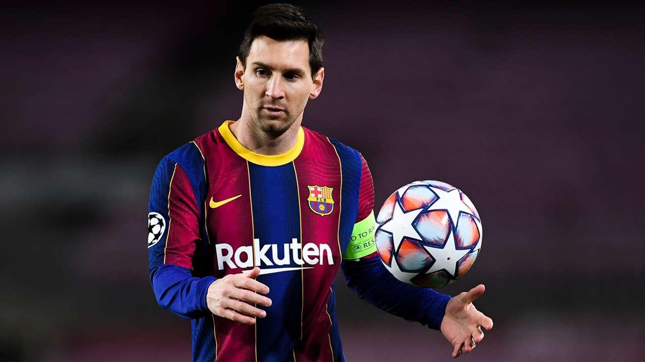 Lionel Messi Barcelona Champions League 2020-21