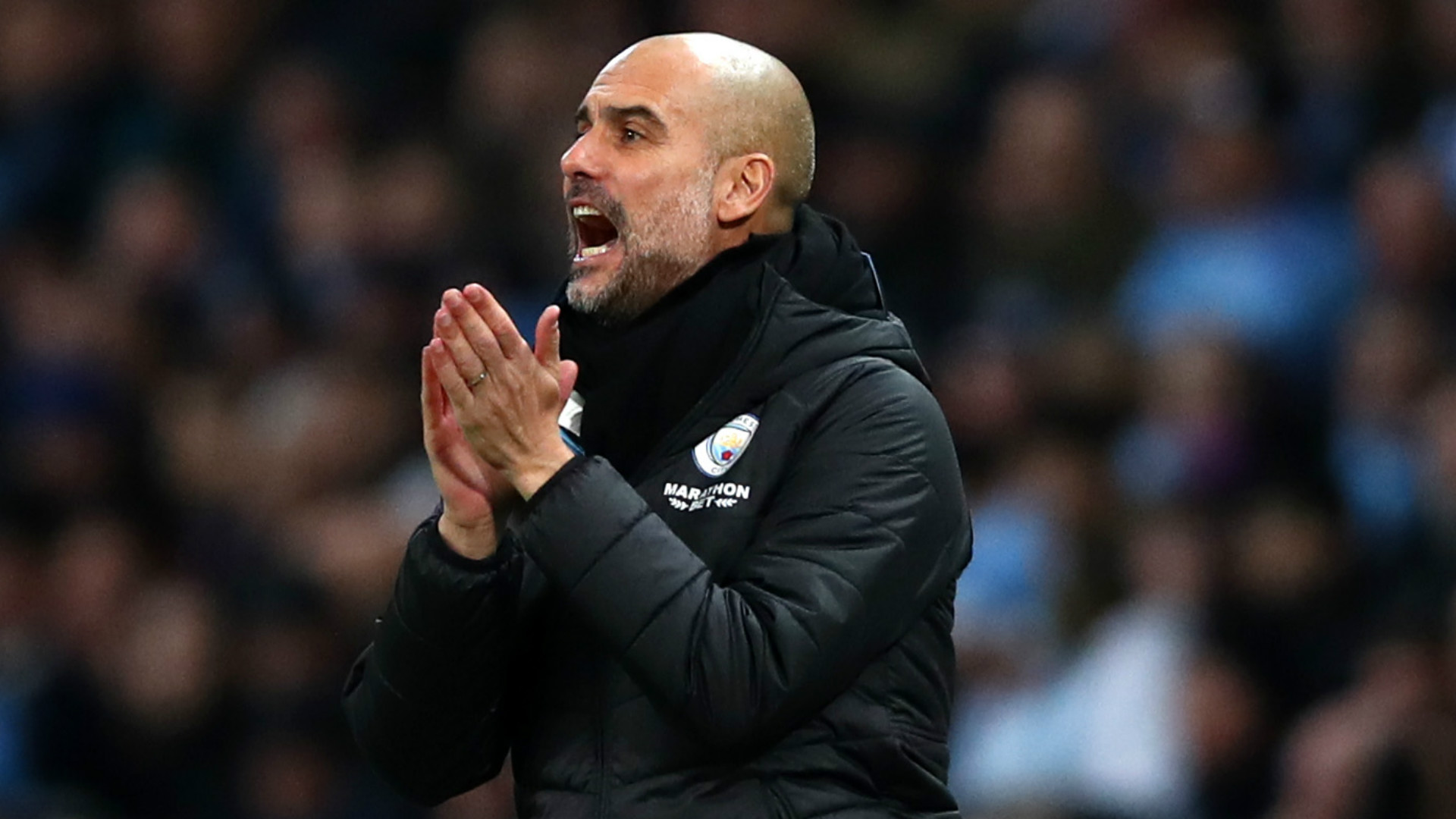 Image result for Manchester City catching Liverpool in Premier League 'unrealistic' - Pep Guardiola