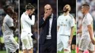 Vinicius, Bale, Zidane, Benzema y Jovic, Real Madrid