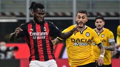 Franck Kessie, Roberto Pereyra, AC Milan vs Udinese