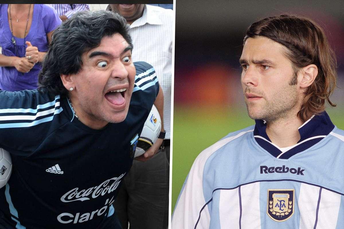Tottenham V Liverpool When Diego Maradona Shot At Journalists While Rooming With Mauricio Pochettino Goal Com