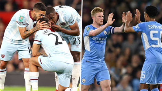 West Ham to face holders Manchester City in Carabao Cup fourth round after knocking out Man Utd