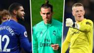 Ruben Loftus-Cheek, Gareth Bale, Jordan Pickford