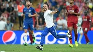 Pitch invader UEFA Super Cup