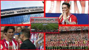 Atlético de Madrid, despedida del Vicente Calderón