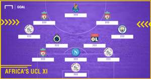 Africa's Champions League XI