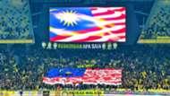 Ultras Malaya tribute tifo, AFF Championship, 13112018