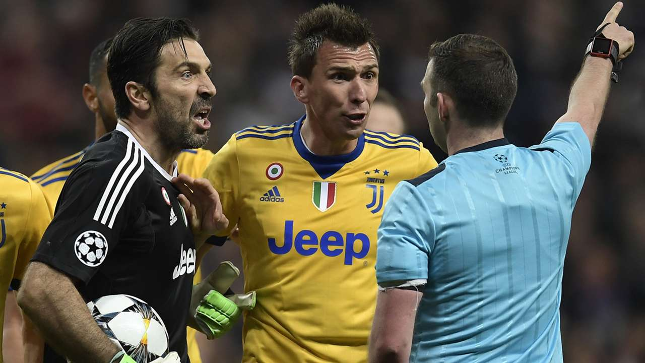 Buffon Oliver Real Madrid Juventus Champions League
