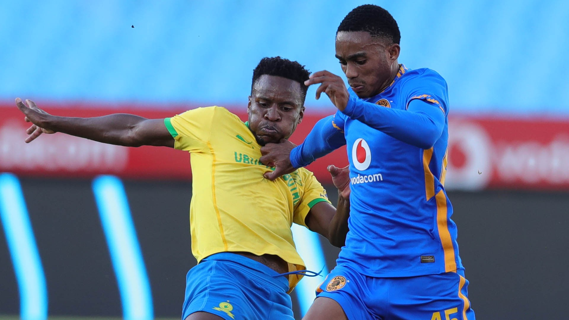 Mamelodi Sundowns and Kaizer Chiefs combined XI: Ngcobo, Zwane, Dolly