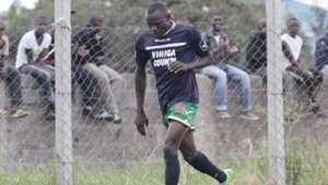 CHRIS MASINZA of Vihiga United v Wazito.